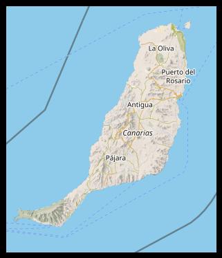 Karte - Fuerteventura
