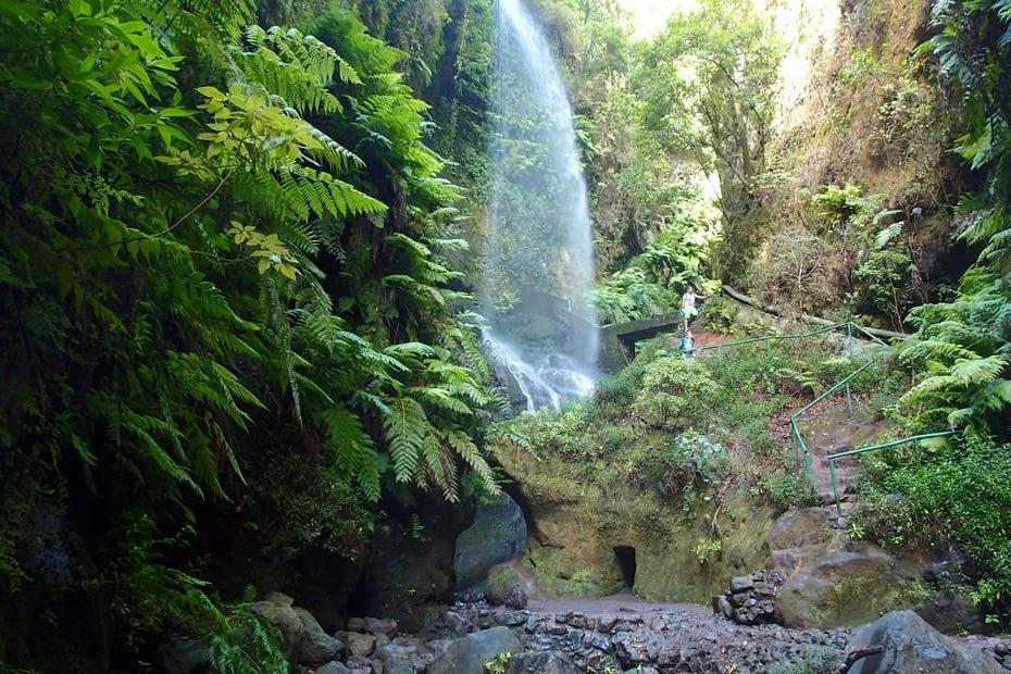Wasserfall Los Tilos - Outdoor Kanaren